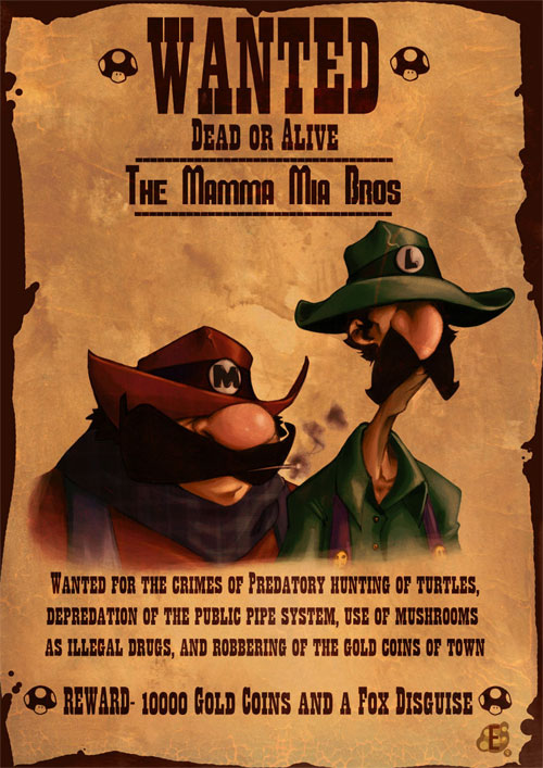 Wanted: Mario and Luigi