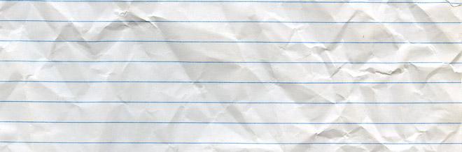 30 Design-Effective Crumpled Paper Textures