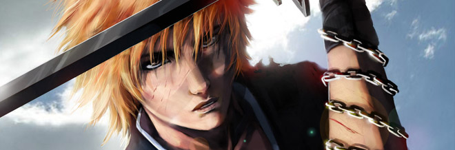 Powerful Ichigo of Bleach Artworks Collection