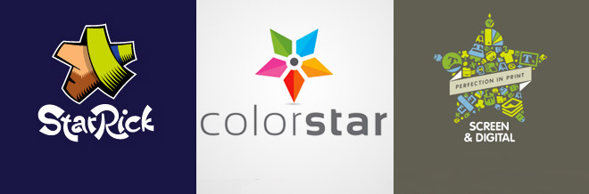 30 Vibrant Looking Designs of Star Logo