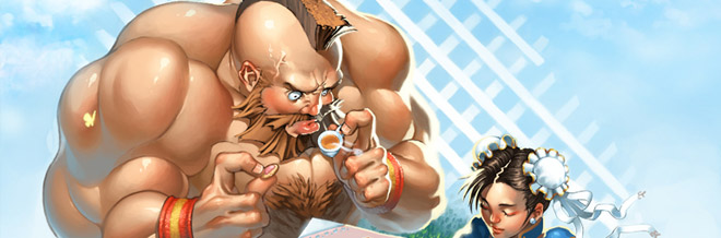 27 Zangief of Street Fighter Illustration Artworks