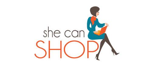 she can shop logo