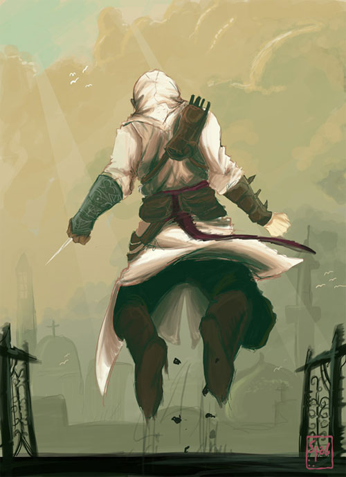 Assassins Creed: on the chase
