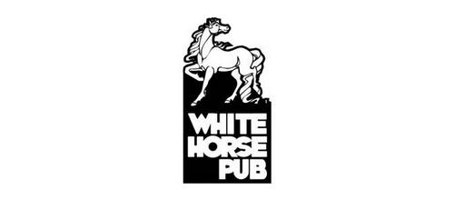 White Horse pub logo