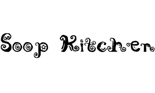 Soop Kitchen font