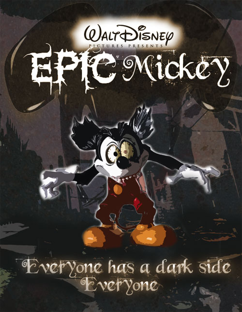 Epic Mickey Poster 6: Scrapper