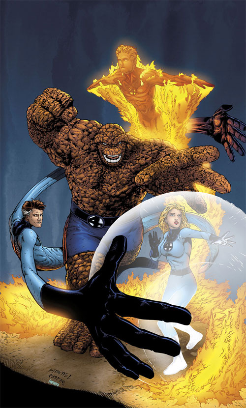 Fantastic Four commission