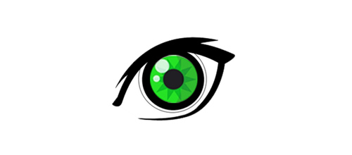 Green eyes logo