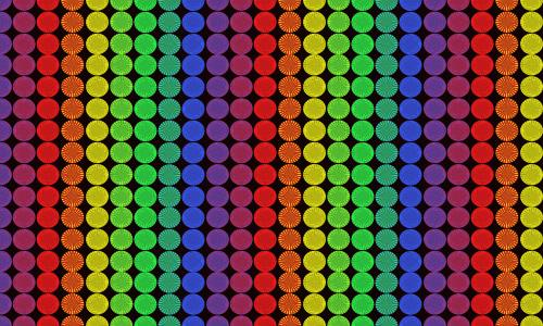 Rainbow Pixels