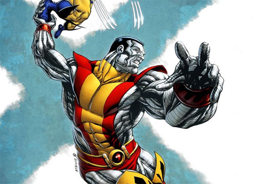 X-Men Month Colossus colored