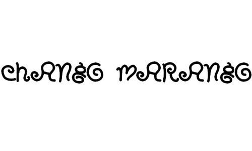 Chango Marango font