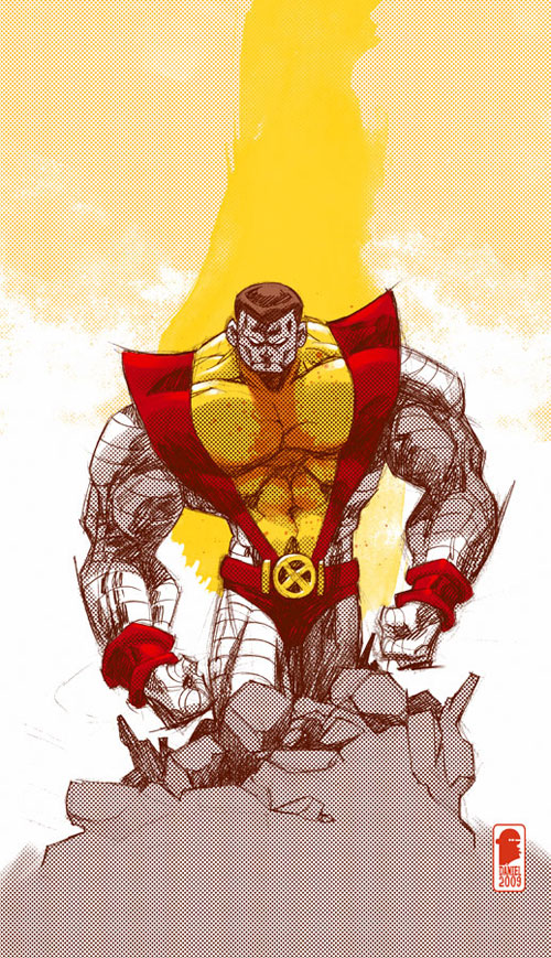 Colossus sketch
