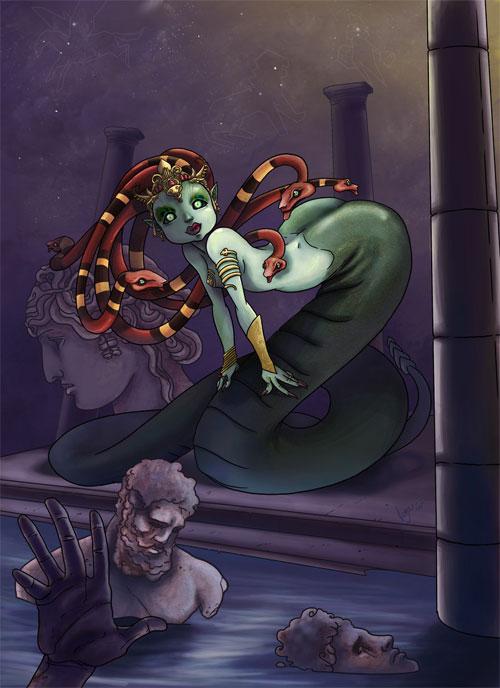 Medusa illustrations