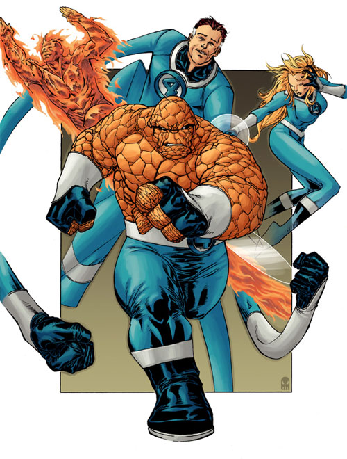 Fantastic Four by spiderguile