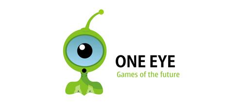 One eye logo