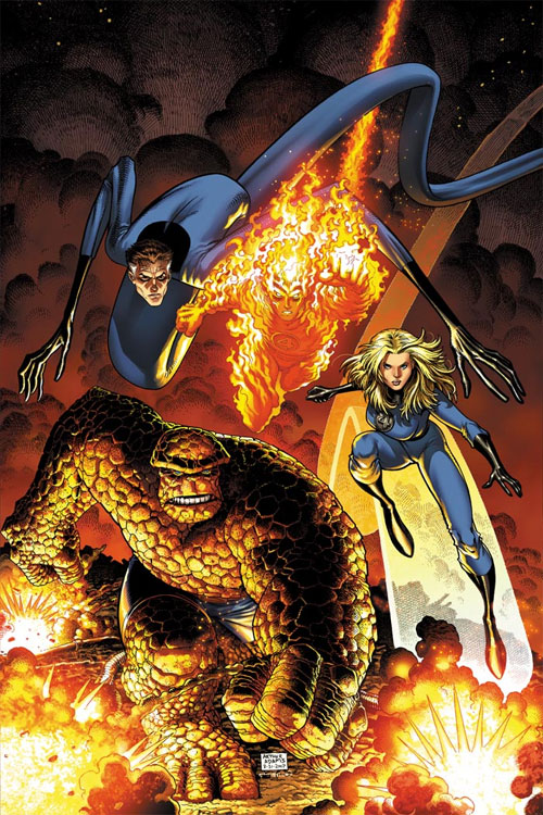 Art Adams Fantastic Four Cover
