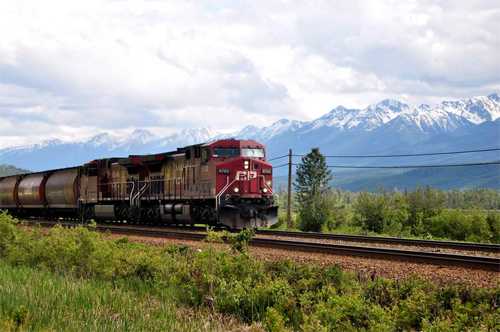 Canadian Train