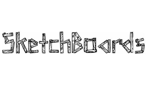 sketchboards font