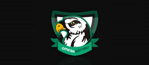 Omega Servers logo