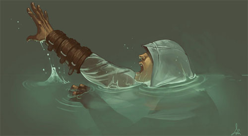 um altair is drowning
