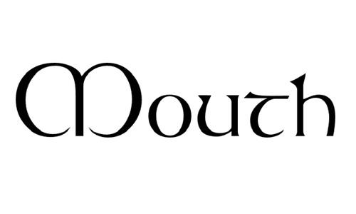 mouth font