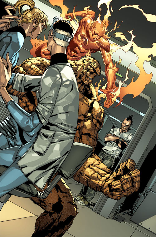 Fantastic Four and Daken