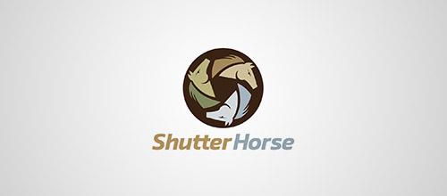 shutter horse logo