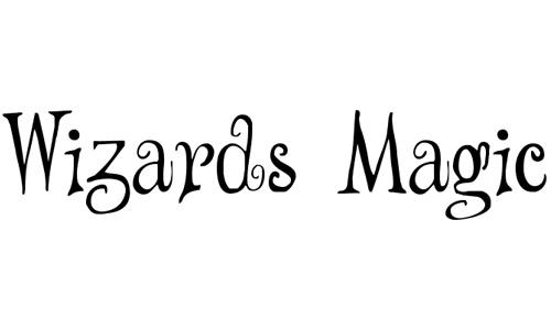 Wizards Magic font