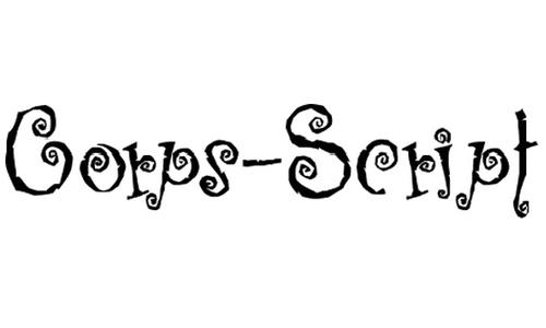 Corps-Script font