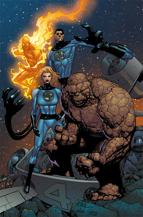 Fantastic Four colors