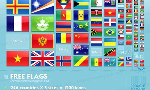 Free Flags Icons