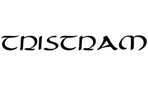 Tristram Expanded font