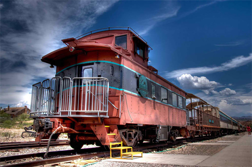 Verde Canyon Train Caboose