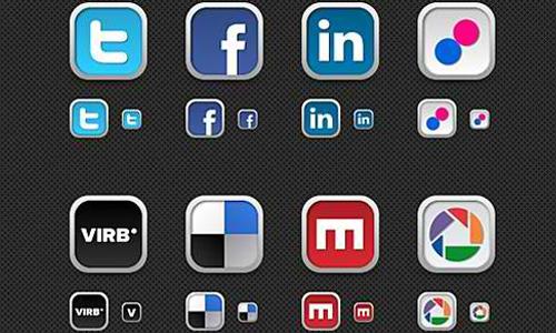 30+ New Social Media Icons