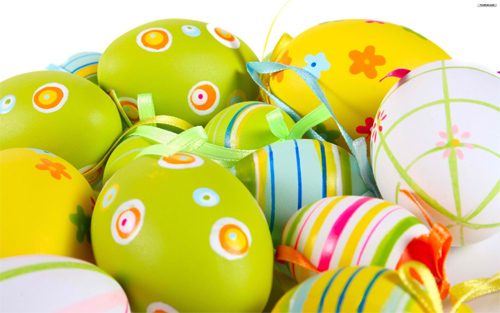 Easter Eggs!!! Wallpaper