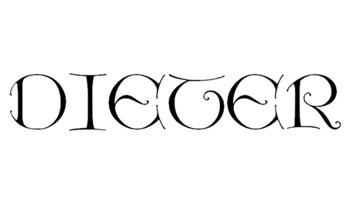 Dieter Caps font