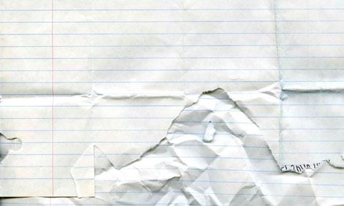 Appealing Taken Torn Paper Texture