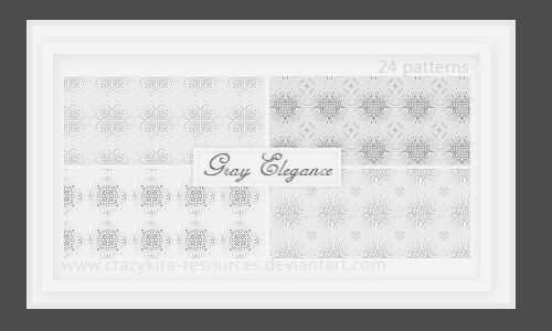 24 Gray Elegance