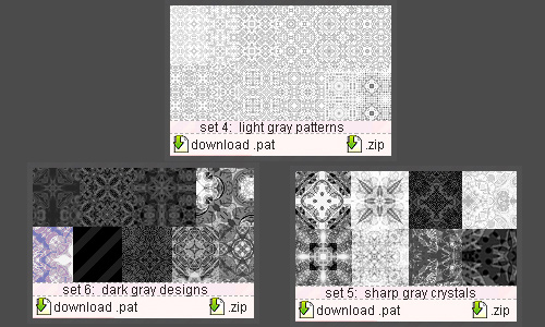 Gray Patterns
