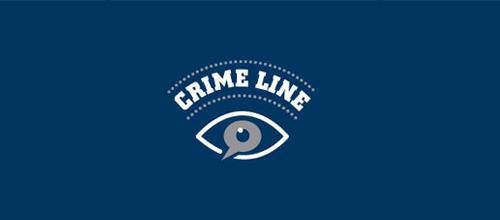 Crime Line Logo