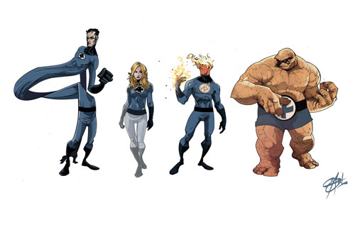Fantastic Four Line-Up