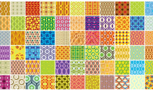 72 Retro Patterns