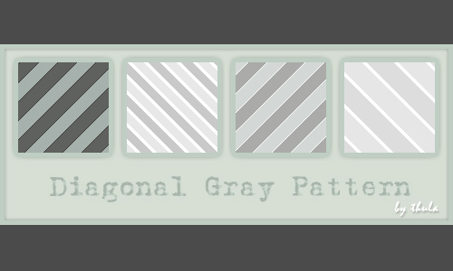 Diagonal Gray Pattern