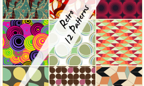 12 Retro Patterns