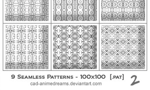 Seamless Photoshop Patterns 2