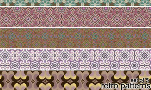 Photoshop Retro patterns