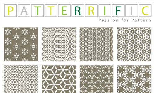 Seamless Patterns Grey Symphony