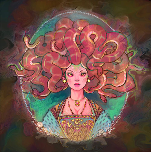 Medusa illustrations