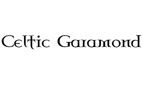 celtic Garamond fonts free