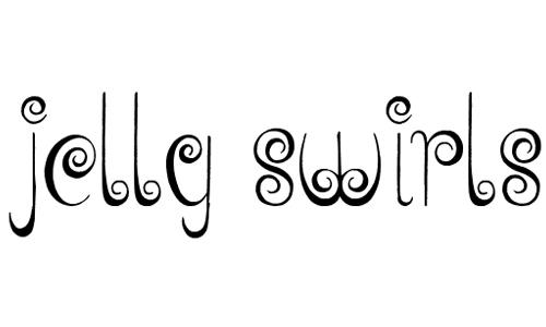 Jelly Swirls font